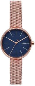 Skagen Signatur Rose Gold-Tone Watch