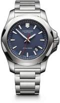 Victorinox I.N.O.X. Stainless Steel Link Bracelet Watch - Blue