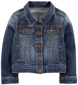 Carter's Simple Joys by Baby Girls' Toddler Denim Jacket