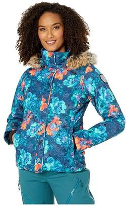 Obermeyer Tuscany II Jacket (Sage) Women's Clothing