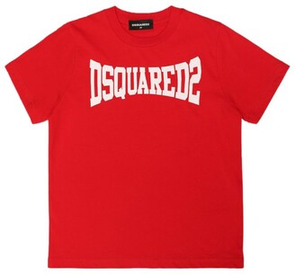 DSQUARED2 Cotton Logo T-Shirt (4-16 Years)