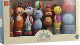 Orange Tree Toys Vintage wooden circus skittles