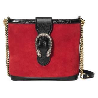 Gucci Dionysus Red Suede Handbags