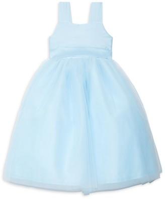 Isabel Garreton Little Girl's Venice Pleated Taffeta Dress