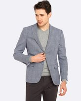 Oxford Max Checked Linen Blend Blazer