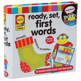 Alex Little Hands Touch And Feel Flash Cards 1st Words 12-pc. Interactive Toy