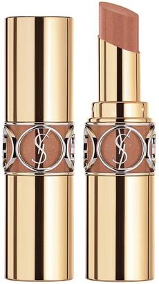 Saint Laurent Rouge Volupte Shine Lipstick - Colour 123 Nude Transparent