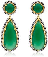 6th Borough Boutique Emerald Layla Earrings