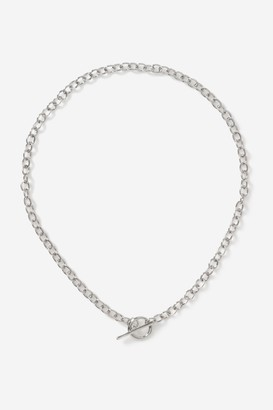 Topshop T-Bar Chain Necklace