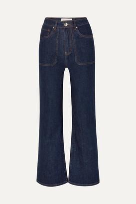 L.F. Markey Jimbo High-rise Wide-leg Jeans - Indigo
