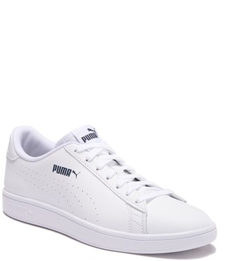 Puma Smash V2 Perforated Leather Sneaker