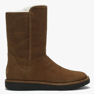 UGG Abree Short II Brown Suede Ankle Boot