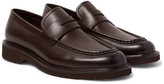 Ermenegildo Zegna Bartolo Leather Penny Loafers
