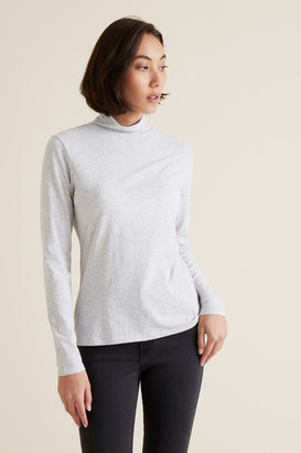 Seed Heritage Classic Roll Neck Top