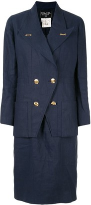 Chanel Pre Owned Two-Piece Dress Suit