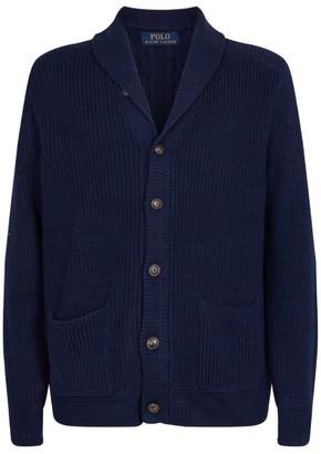 Ralph Lauren Knitted Shawl-Collar Cardigan
