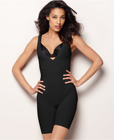Maidenform Firm Control Instant Slimmer Long Leg Open Bust Body Shaper 2556