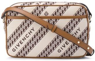 Givenchy Chain-Print Shoulder Bag