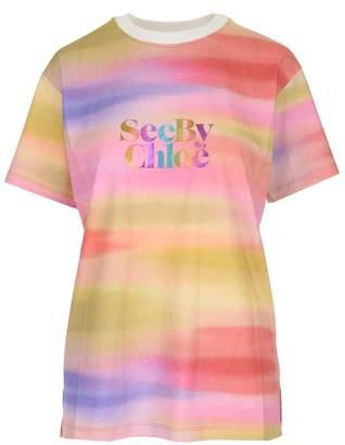 See by Chloe Rainbow Effect T-Shirt