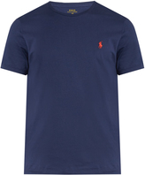 Polo Ralph Lauren Logo-embroidered crew-neck cotton T-shirt