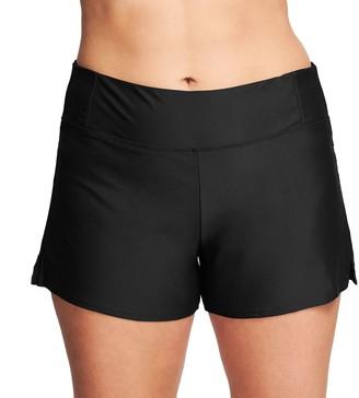 Plus Size Mazu Swim Hip Minimizer Swim Shorts