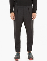 Marni Black Loose-Fit Trousers