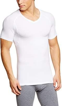 Hanro Men's V-Shirt 1/2 Arm Vest,L