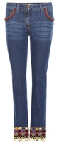 Etro Embellished Straight Jeans