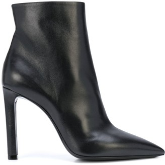 Saint Laurent High Heel Ankle Boots