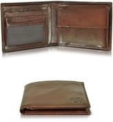 The Bridge Story Uomo Dark Brown Billfold Wallet w/Coin Pocket