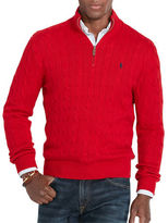 Polo Ralph Lauren Cable-Knit Mockneck Sweater