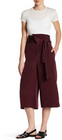Tibi 4-Ply Silk Pleated Wide Leg Pant