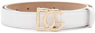 Dolce & Gabbana plaque buckle belt