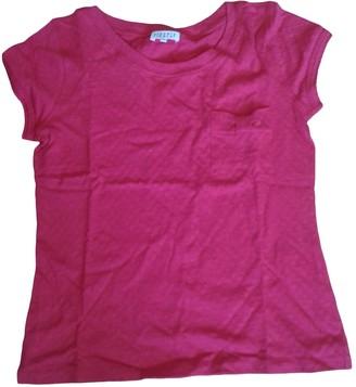 Claudie Pierlot Red Cotton Top for Women