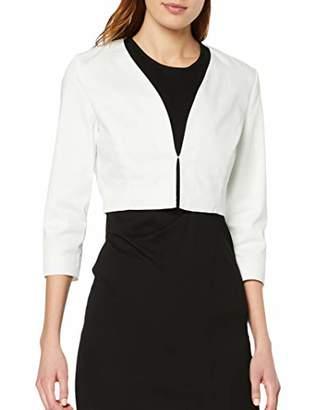 Tom Tailor Casual Women's 1009834 Suit Jacket, (Whisper White 10315), UK