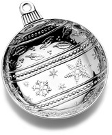 Mikasa Ball Ornament Candy Dish
