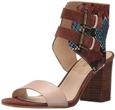 Nine West Women's Galiceno Synthetic Heeled Sandal