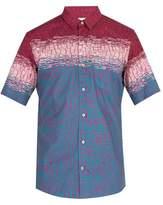 THORSUN Printed cotton short-sleeved shirt