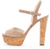 MICHAEL Michael Kors Lucia Suede Platform Sandal