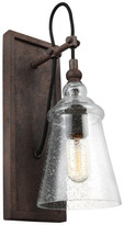 Feiss 1-Light Sconce, Dark Weathered Iron