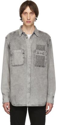 Diesel Black Denim D-Milov Shirt