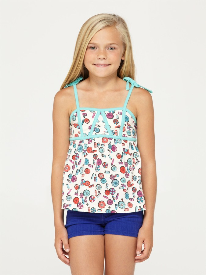 Roxy Girls 2-6 June Gloom Tank Top