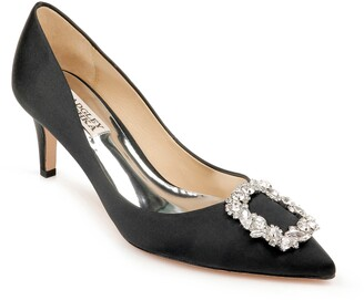 Badgley Mischka Carrie Crystal Embellished Pump