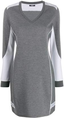 Liu Jo colour block knitted dress