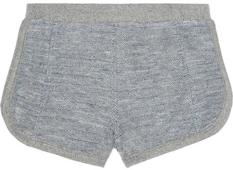 Alexander Wang Knitted cotton shorts