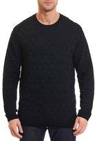 Robert Graham Lombards Jacquard Crewneck Sweater