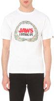 A Bathing Ape Jaws Shark Bone Cotton-jersey T-shirt