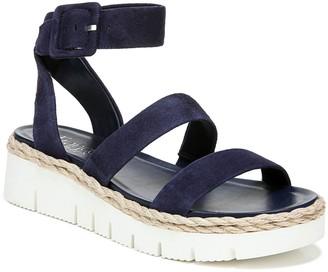 Franco Sarto Platform Leather Sandals - Jackson
