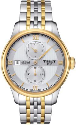 Tissot Men's Le Locle Automatic Bracelet Watch, 39mm