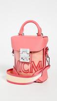 MCM Soft Berlin Transparent Mini Crossbody Bag